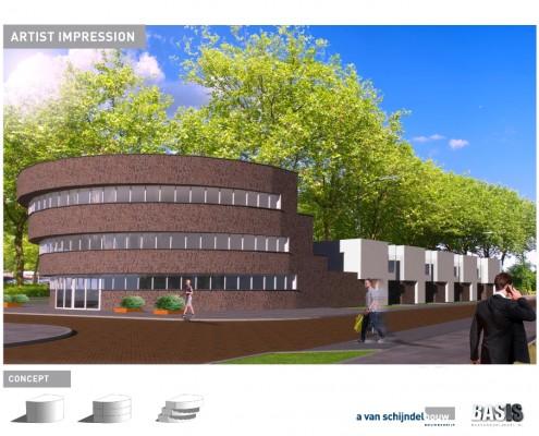 moderne-architectuur-kantoorgebouw-met-woningen